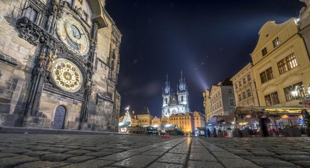 Прага с высоты 185см